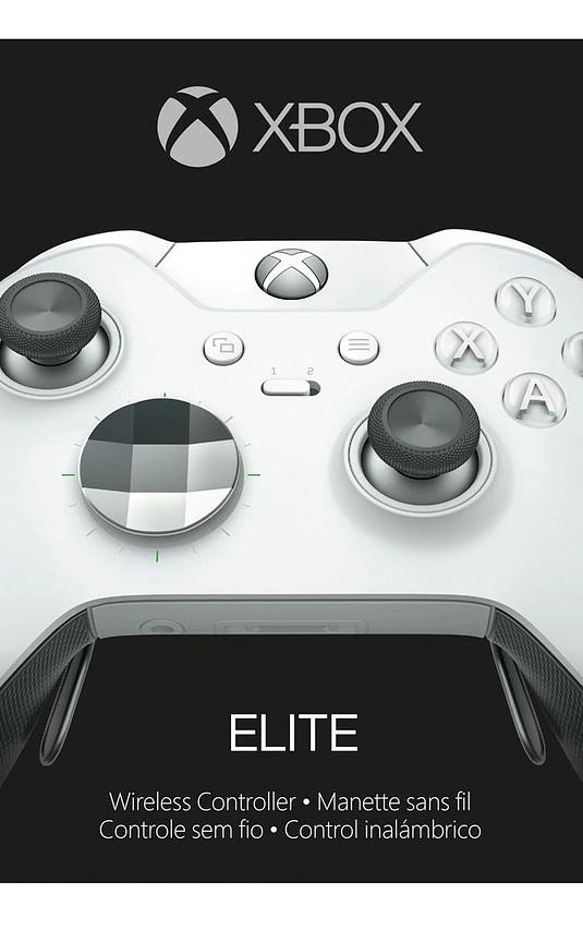Control elite Xbox one Blanco (4 paletas)