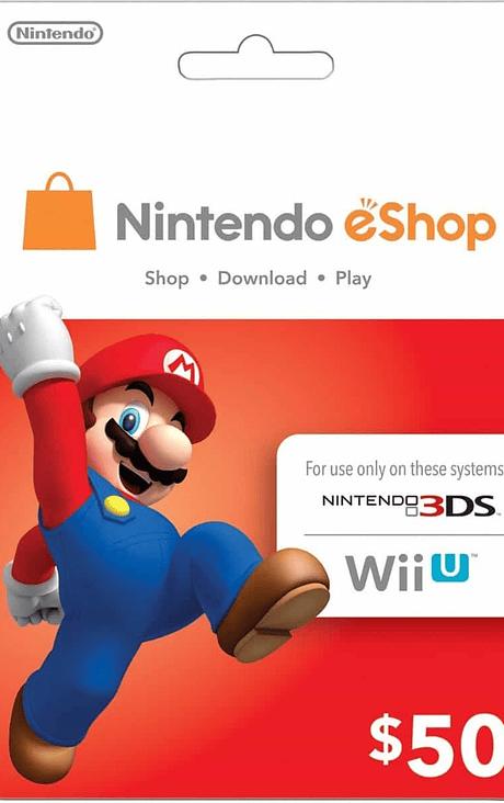 Nintendo Eshop 50usd cuenta USA