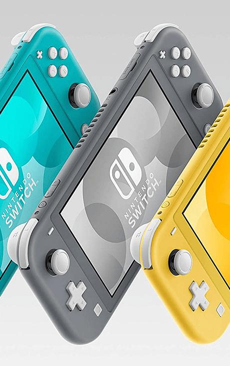 Nintendo Switch Lite TURQUESA/GRIS/AMARILLA