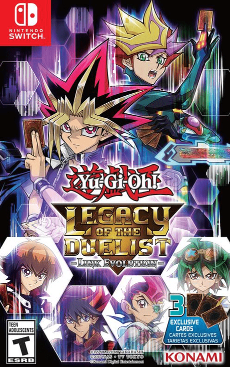 Yugioh Legacy of the Duelist N.Switch