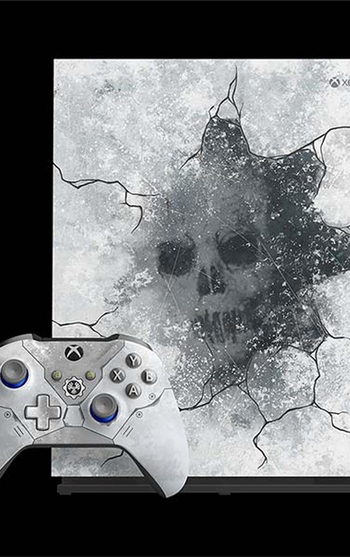 Xbox one X Ed Gears 5 nueva
