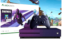Xbox one s Ed Fortnite 1TB morada USADA