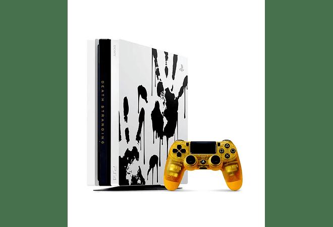 PS4 Pro Edición Death Stranding incluye juego