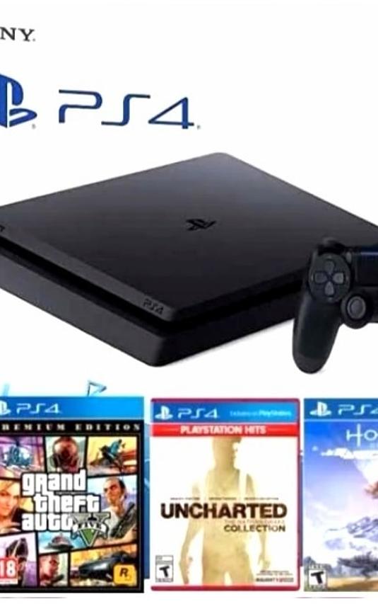 PS4 Slim 1TB Bundle 3 juegos