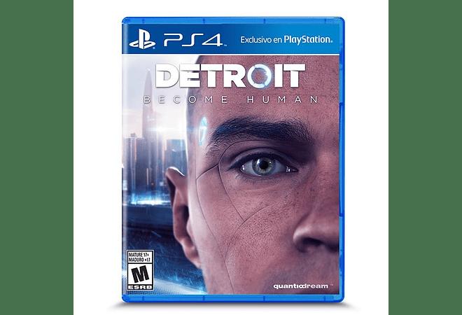 Detroit Become Human Ps4 Nuevo