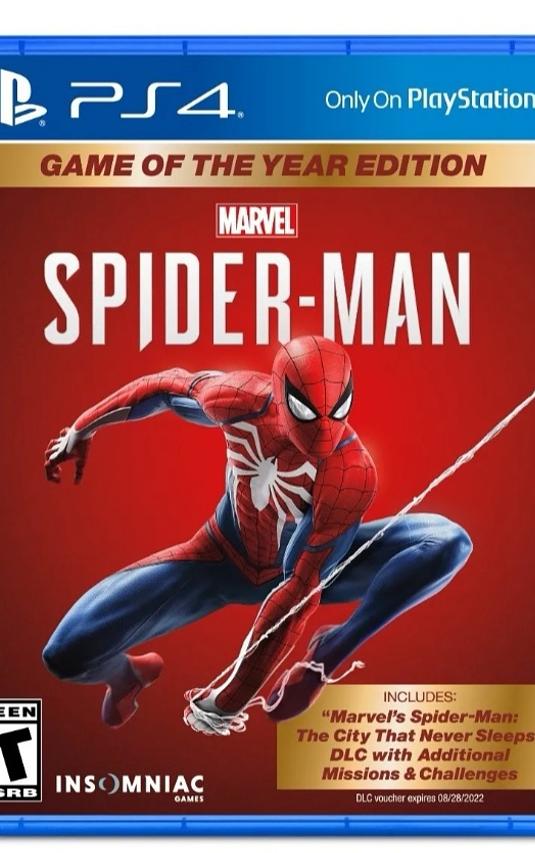 Spiderman Goty PS4 nuevo