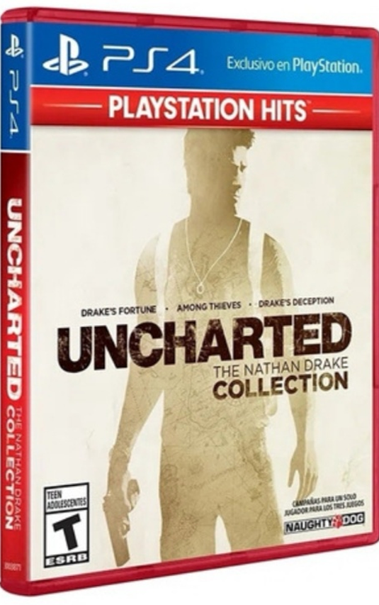 Uncharted Collection ps4 nuevo