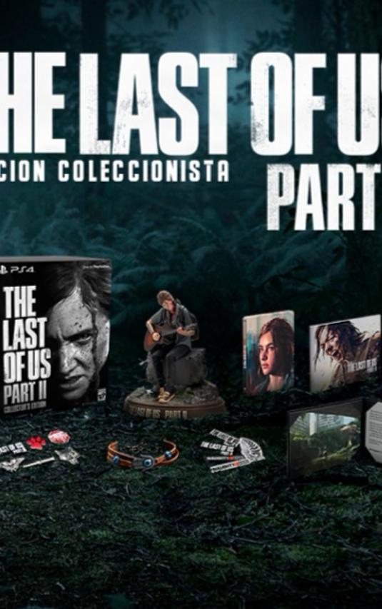 The Last of Us parte 2 Edición Coleccionista Disponible!!