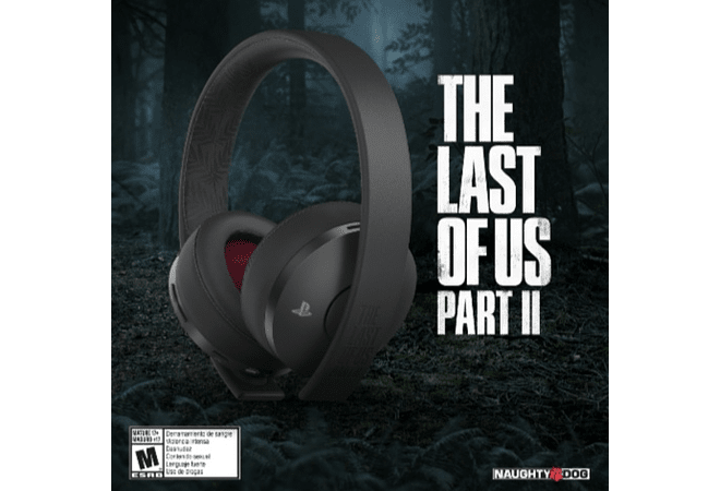 Diadema Gold Wireless Headset PS4 Edición The last of us part II Disponible!!