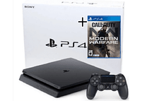 PS4 Slim 1tb + Juego Fisico call duty Modern Español Modern Warfare