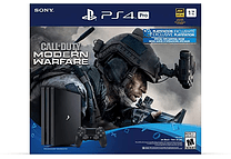 PS4 Pro 1Tb negra + juego Call of duty Español