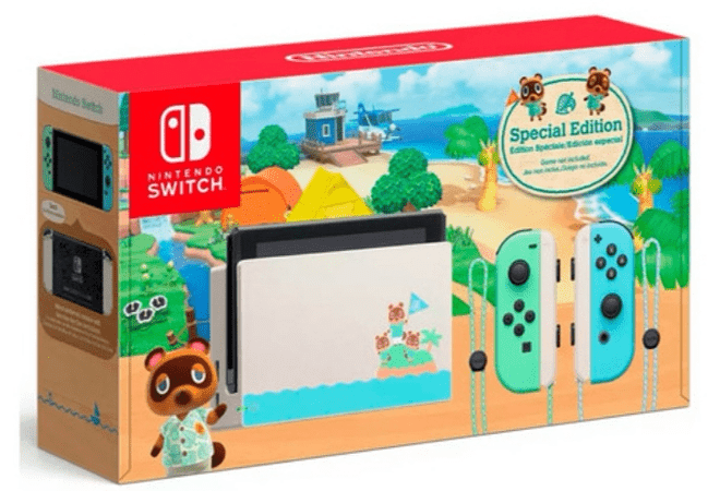 Nintendo Switch Ed Animal Crossing Sin juego