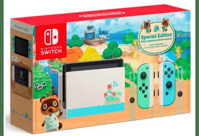 Nintendo Switch Ed Animal Crossing incluye juego fisico