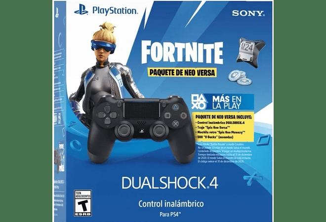 Control negro PS4 +Skin neo +500 pavos USA
