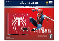 PS4 Pro 1TB Ed Spiderman Con juego fisico