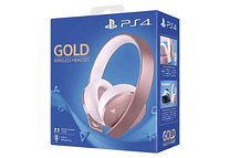 Diadema Gold Rose ps4 inalambrica