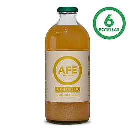 JUGO DE MEMBRILLO: 6 BOTELLAS AFE 1 LITRO