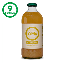 JUGO DE MEMBRILLO: 9 BOTELLAS AFE 1 LITRO