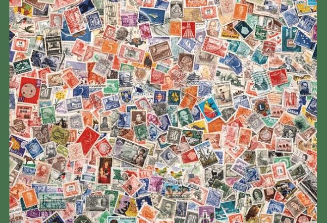 Puzzle 1000 Piezas - Estampillas
