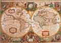 Puzzle 1000 Piezas - Mapa Antiguo