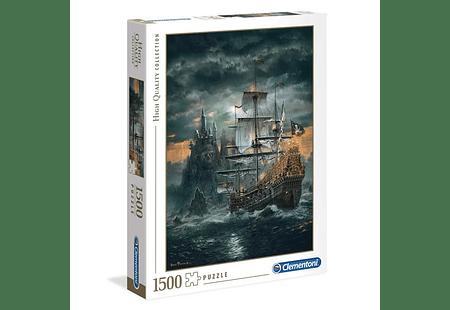 Puzzle 1500 Piezas - Barco Pirata