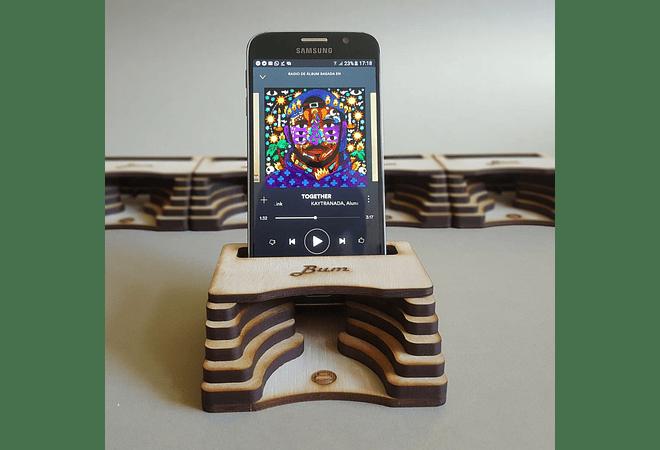 Amplificador de Madera Bum