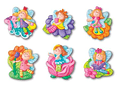 Mould & Paint Glitter Fairies