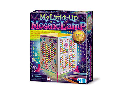 My Light-Up Mosaic Lamp