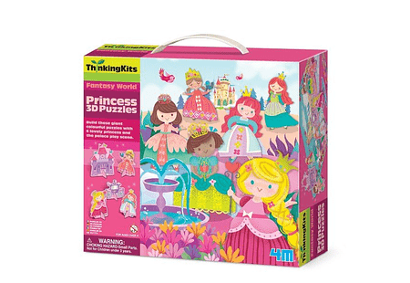 ThinkingKits / 3D Puzzles - Princess