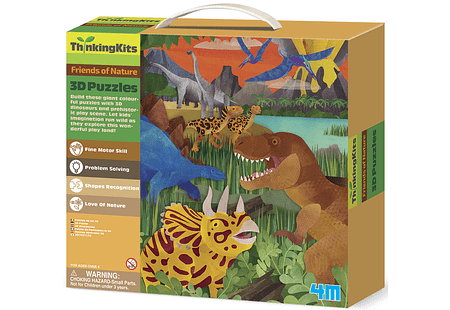 ThinkingKits / 3D Floor Puzzles - Dinosaurs