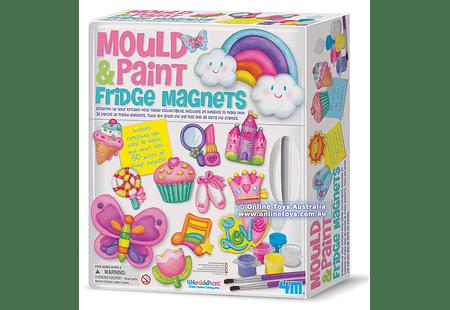 Magnetic Mould & Paint Fridge magnets