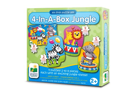 4-In-A-Box Puzzles - Jungle