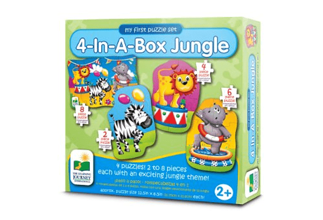 4-In-A-Box Puzzles - Jungle