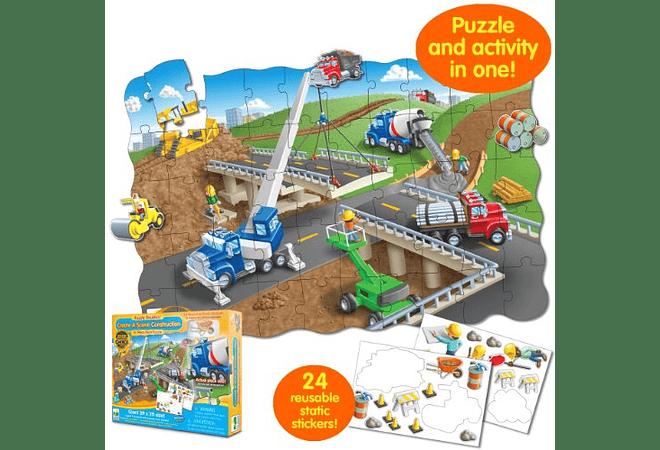 Puzzle Doubles - Create A Scene Construction