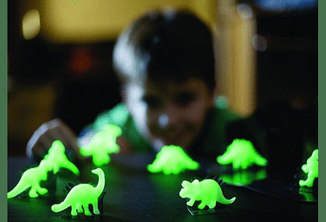 Glow 3D Dinosaurs