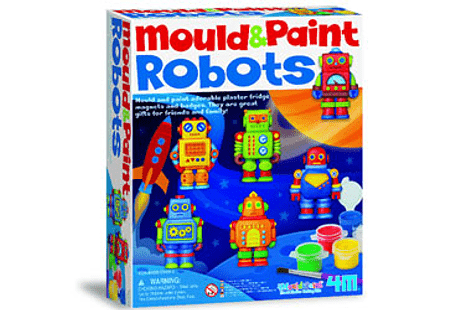 Mould and Paint - Robots