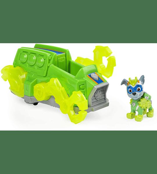 Rocky Mighty Pups Vehículo Luces y Sonidos