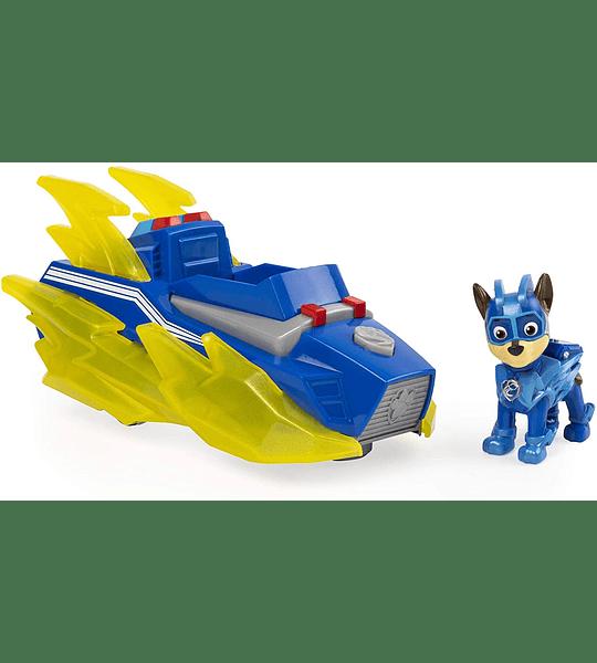 Chase Mighty Pups Vehículo Luces y Sonidos