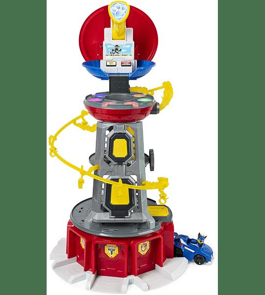 Torre Lookout Mighty Pups con Luces y Sonidos de Paw Patrol