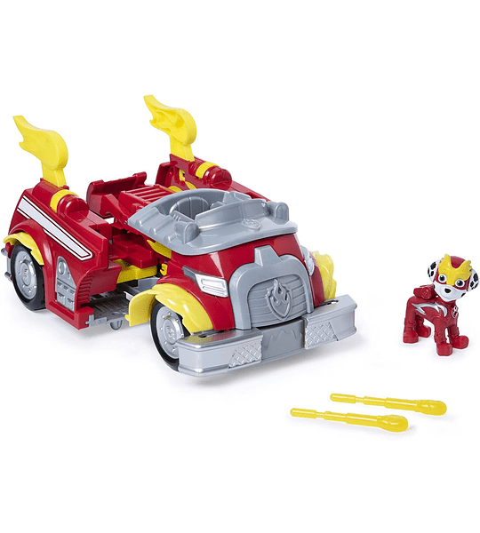 Marshalls Mighty Pups Super Paws Paw Patrol, Powered Up Transformable