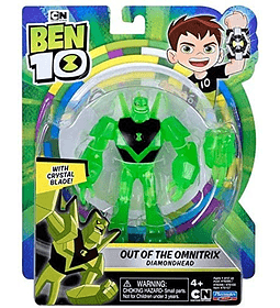 Diamondhead Out of The Omnitrix Ben 10