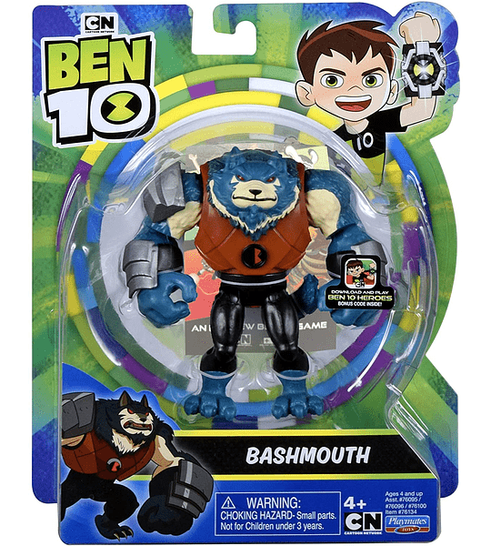 Bashmouth Out of The Omnitrix Ben 10