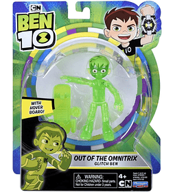 "Glitch Ben ""Out of the Omnitrix Ben 10"