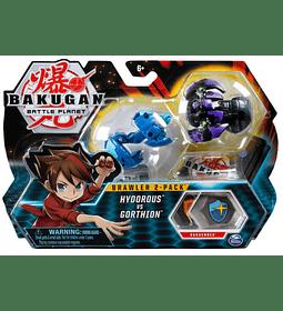 Hydorous VS Gorthion Bakugan Brawler 2