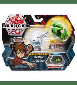 Pegatrix VS Mantonoid Bakugan Battle planet