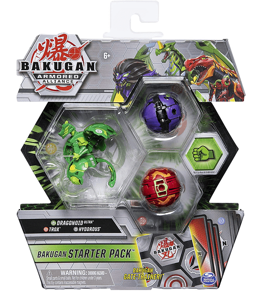 Dragonoid Ultra, Trox Hydorous Bakugan Armored Alliance Starter Pack S2