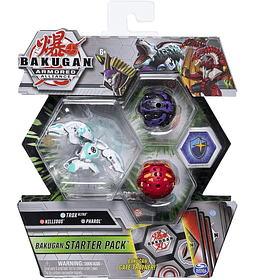 Trox Ultra, Nillious, pharol Bakugan Armored Alliance Starter Pack S2