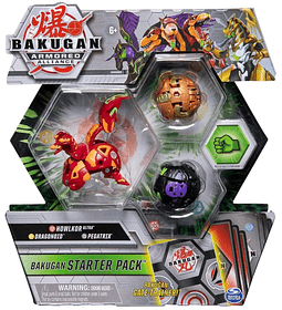 Howlkor Ultra, Dragonoid Pegatrix Bakugan Armored Alliance Starter Pack S2