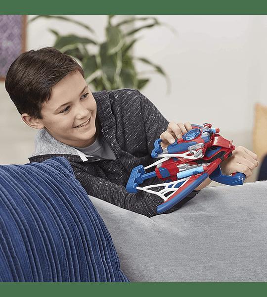 Spiderbolt Powered Spider-Man Nerf