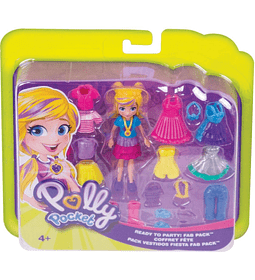 Polly Pocket set Colección de moda